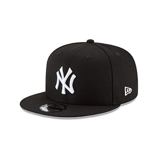 fc25553ac New Era New York Yankees Basic Black and White 9FIFTY Snapback 950
