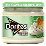 Walkers Doritos Cool Sour Cream & Chives Dip (300g) - Pack of 6