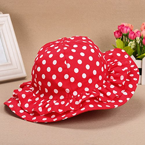 Acvip Red Dots Girl Hat Baby Polka FfqWfArc
