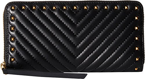 Rebecca Minkoff Women's Continental Wallet, Black, One Size by Rebecca Minkoff
