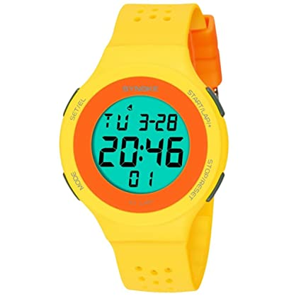 Reloj deportivo digital impermeable para niños b3e9742f93c5