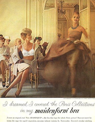 (Maidenform bra vintage ad original 1pg clipping magazine photo #R8542)