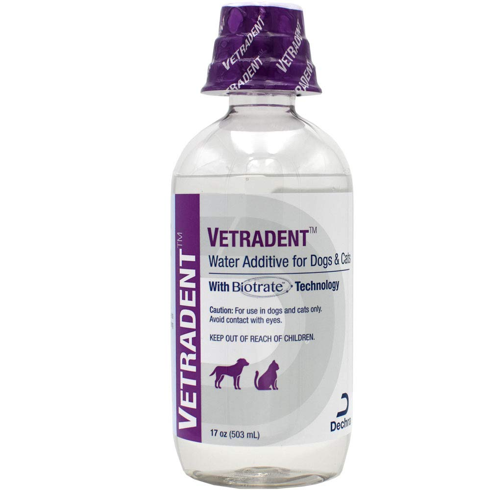 Dechra Vetradent Water Additive for Dogs and Cats 17 oz