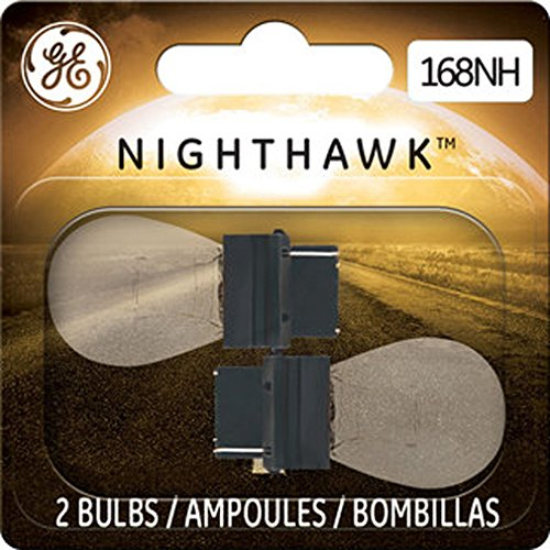 GE NIGHTHAWK 168 Replacement Bulbs, (2 (1997 Toyota Corolla Replacement)