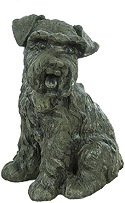 Set of Hand Carved Stone Dogs Scottish Dogs Dogs Made of Rock Dog Family Scottie Dogs Collectible Dogs Stone Animals Office Decor