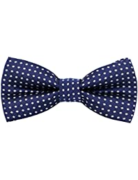 Pre-Tied Little Boy's Polka Dot Bow Ties Toddler Bow Ties For Kids M012