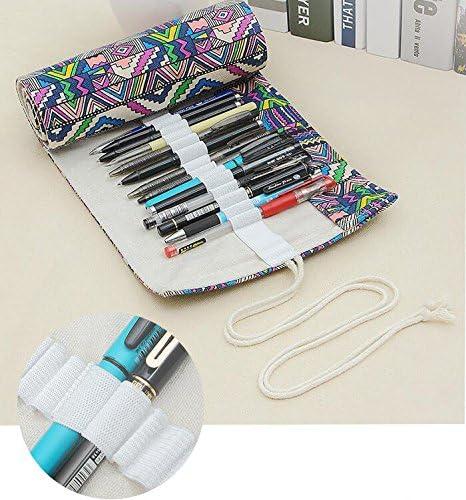 SteelFever Rollo de Papel de Lienzo, Estuche para lápices, Rollo para bolígrafos: Amazon.es: Hogar