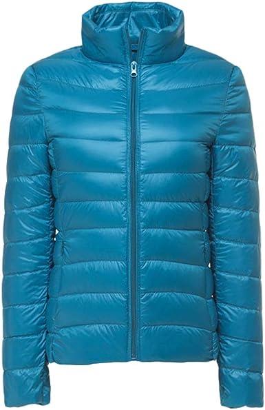 Sentaoa Femme Doudoune L/ég/ère dhiver Ski Compressible Veste Matelass/ée Blouson Outdoor Sport Manteau