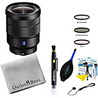 Sony 16-35mm Vario-Tessar T FE F4 ZA OSS E-Mount Lens + Outlet Essentials Bundle