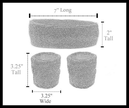 Funny Guy Mugs Sassy Unisex Sweatband Set (3-Pack: 1 Headband & 2 Wristbands) by Funny Guy Mugs (Image #3)