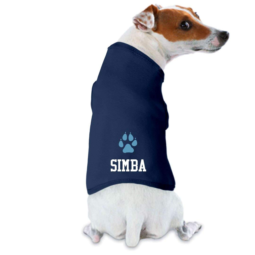 FUNNYSHIRTS.ORG Simba Likes His Shirt: Dog Tank Top