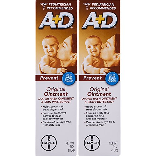 A&D Ointment, 4-Ounce (Pack of 2) (Sale For Ad 1)
