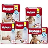 Kimberly Clark Huggies Diaper - 52238CS - 288 Each / Case