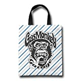 Gas Monkey Energy Drink Best Deals - CMCM Gas Monkey Garage LOGO Reusable Grocery Tote Bags/Shopping Bags