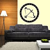 Wall Decals Zodiac Disc Crossbow Decal Vinyl Sticker Window Bedroom Hall Home Decor Dorm Interior Design Living Room Kitchen Murals MN602