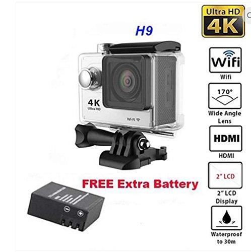 H9 HD 4K Action Camera Waterproof 12MP 2
