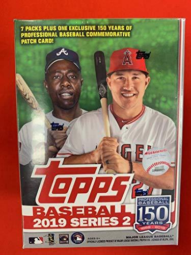 (2019 Topps Series 2 Baseball Blaster Box (7 Packs/14 Cards: 1 Relic))