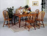 Farm Dining Table Brand New 36''x60''x30''H Farm House Wood Dining Table with Dark Oak Finish