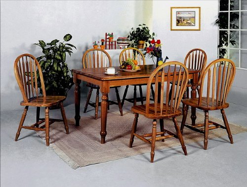 Brand New 36''x60''x30''H Farm House Wood Dining Table with Dark Oak Finish