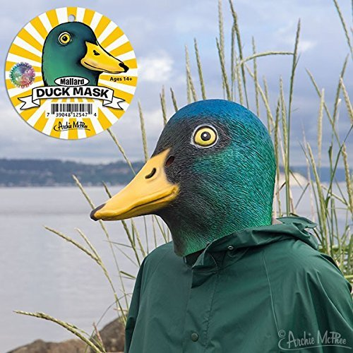 Archie McPhee Mallard Duck Mask]()