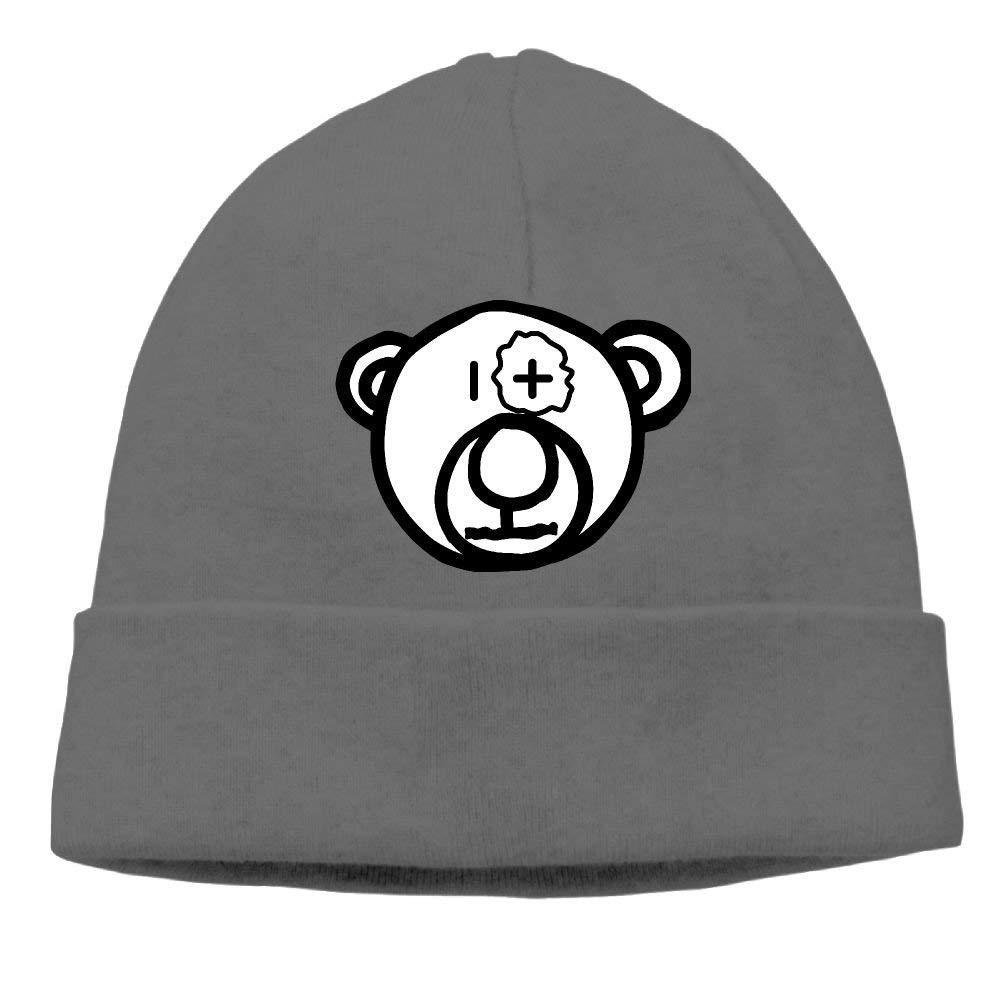 boy Unisex Stupid Bear Classic Fashion Daily Beanie Hat Skull Cap Go Ahead