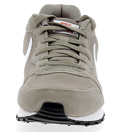 Marrón de Red Habanero Runner Nike Running MD 2 203 Zapatillas Hombre White Sepia para Stone IgA8AqwUnx