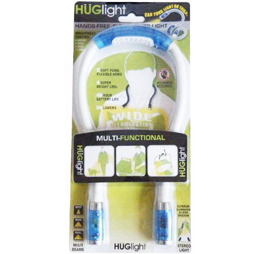 Flexible Neck Led Reading Light Huglight in US - 7