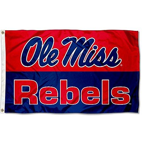 Ole Miss Large 3x5 College Flag