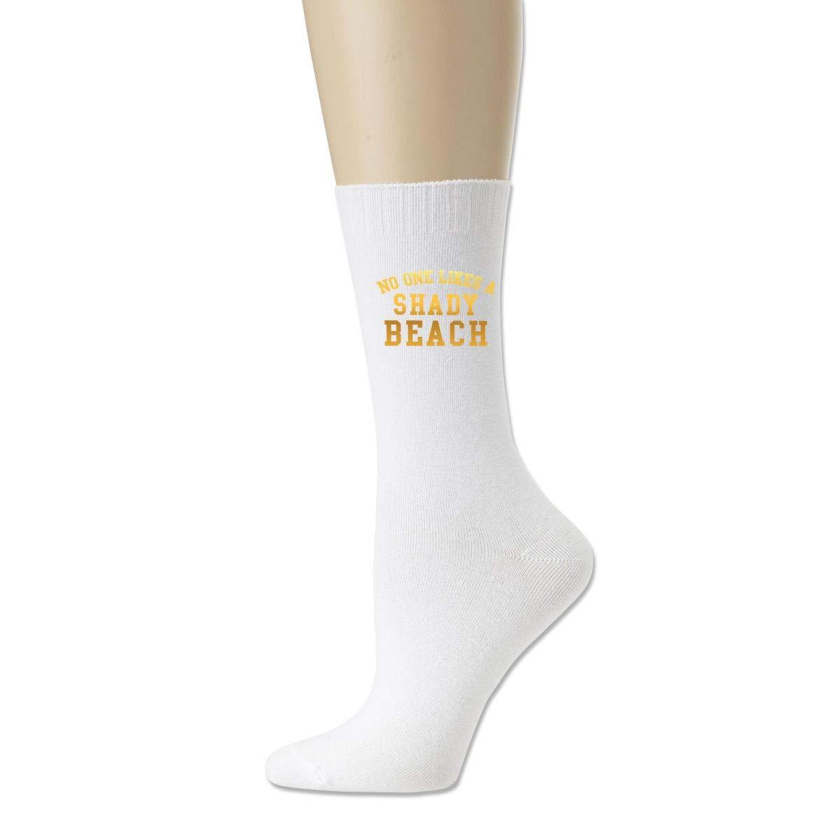 No One Like A Shady Beach Cotton Solid Socks For Womens/' Socks