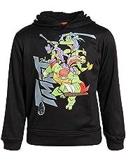 Nickelodeon Boys Fleece Sweatshirt Pullover Hoodie - Thomas The Train - Ninja Turtles - Blaze (Toddler/Little Boys)