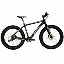 """2017 BEIOU® Full Carbon Fat Tire Bicycle Fat Mountain Bike 26 Inch 4.5"""" Tire Mountain Bicycle SHIMANO ALTUS 9 Speed 10.7kg T700 Glossy 3K CB023"""
