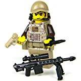 US Army Special Forces Sniper Camouflage (SKU7)- Battle Brick Custom Minifigure