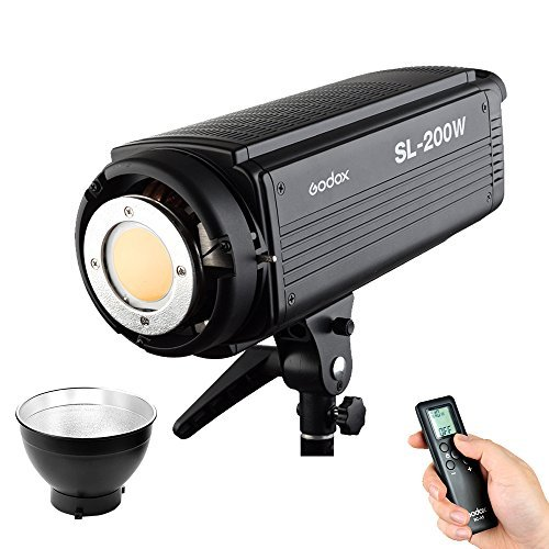 Godox SL-200W 200Ws 5600K Studio LED Continuous Photo Video Light Lamp w/ Remoteの商品画像