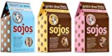 Sojos 100% Natural Treats For Dogs 3 Flavor Variety Bundle: (1) Sojos Grain-Free Duck & Cherry Flavor Treats, (1) Sojos Grain-Free Lamb & Sweet Potato Flavor Treats, and (1) Sojos Wheat & Corn Free Bacon Cheddar Flavor Treats, 10 Oz. Ea. (3 Boxes Total) Review