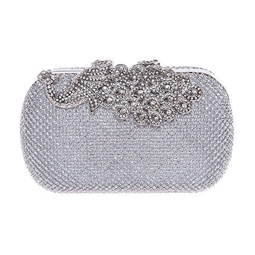 HBeauty silver pour HBeauty Pochette femme Pochette vPS50n7