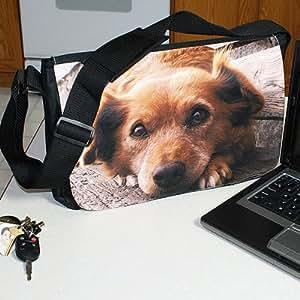 Photo or Logo Personalized Laptop - Messenger Shoulder Bag