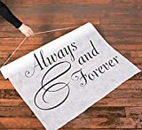 Arts & Crafts : Always & Forever 100' X 3' Wedding Aisle Runner