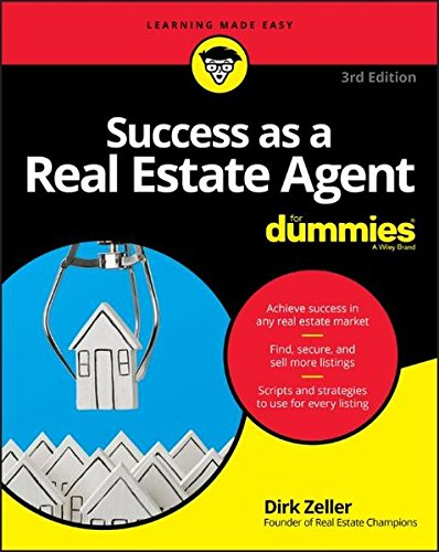 Success as a Real Estate Agent For Dummies (Agent Estate Real)
