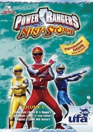 Power Rangers - Ninja Storm 06, Folgen 19-21 Alemania DVD ...