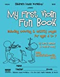 img - for My First Violin Fun Book: including coloring & activity pages for ages 4 to 7 book / textbook / text book