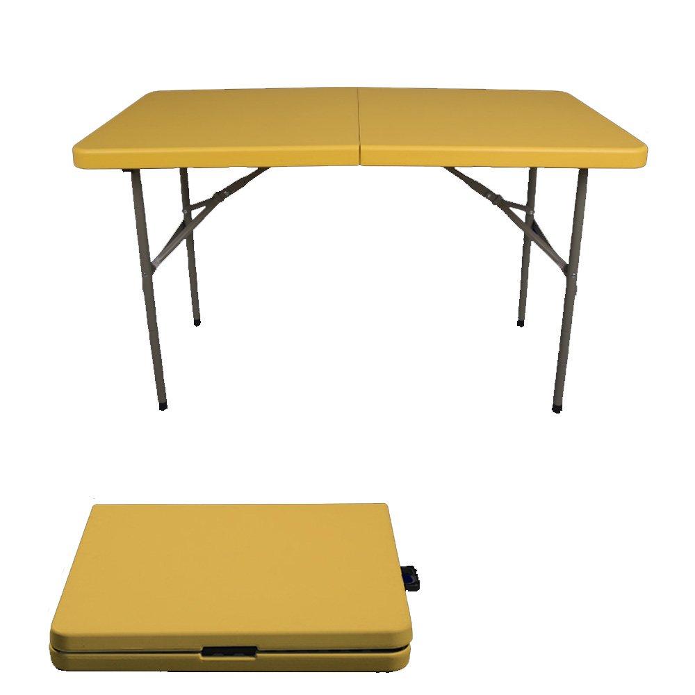 JU FU Tavolo pieghevole Tavolo lungo per esterno Tavolo da ufficio semplice Tavolo da pranzo pieghevole Tavoli in plastica Tavolo da conferenza portatile Tavolo da picnic all'aperto, Tavoli da confere