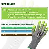 WORKPRO Garden Gloves, Work Glove with Eco Latex