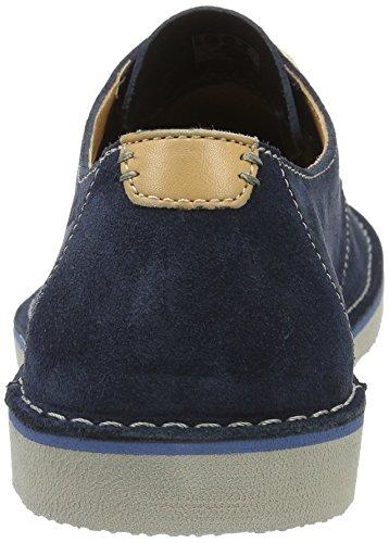 Clarks 261239927, Scarpe Stringate Uomo blu