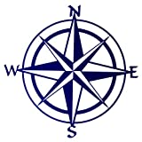 Thirstystone Compass Rose 16-Guage Wall Art, 20-Inch Review