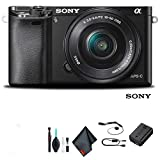 Sony Alpha a6000 Mirrorless Camera with 16-50mm Lens Black Starter Kit