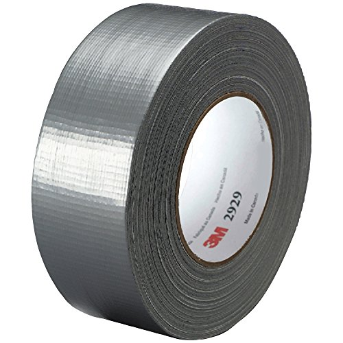 """Top Pack Supply 3M 2929 Duct Tape, 6.0 Mil, 2"""" x 50 yds. Sil"""