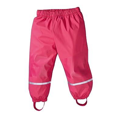 "90671aff9b58e LLXX Girl's Waterproof Trousers Kids Windproof Pants and Rain Trousers  (33.8""/36.2"""