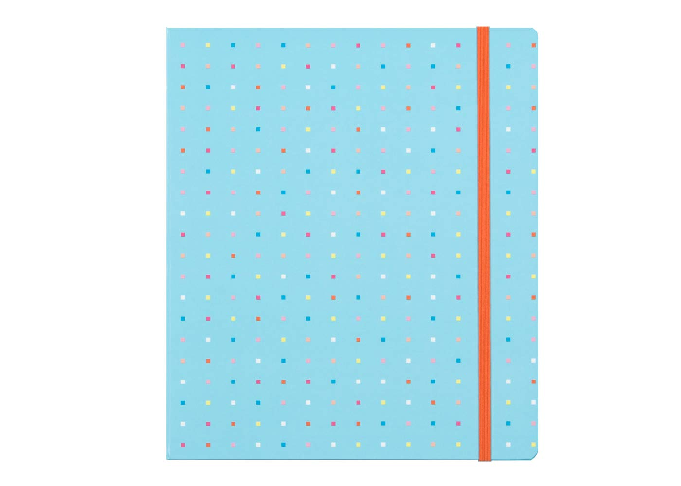 Blue Sky 2019-2020 Academic Year Weekly & Monthly Good Vibes Planner, Hardcover, Concealed Gold-Tone Twin-Wire Bound, 7'' x 9'', Square Dots