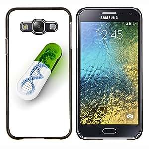 YiPhone /// Prima de resorte delgada de la cubierta del caso de Shell Armor - Píldora ADN - Samsung Galaxy E5 E500