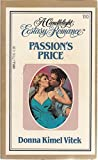 img - for Passion's Price (Candlelight Ecstasy #110) book / textbook / text book